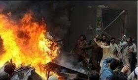 Hindu temple attacked destroyed - asifkhokhar | ello