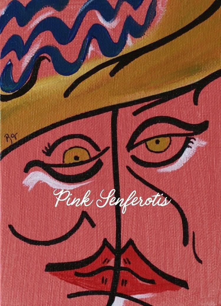 LORNA - Acrylic canvas board. 1 - pink_senferotis | ello