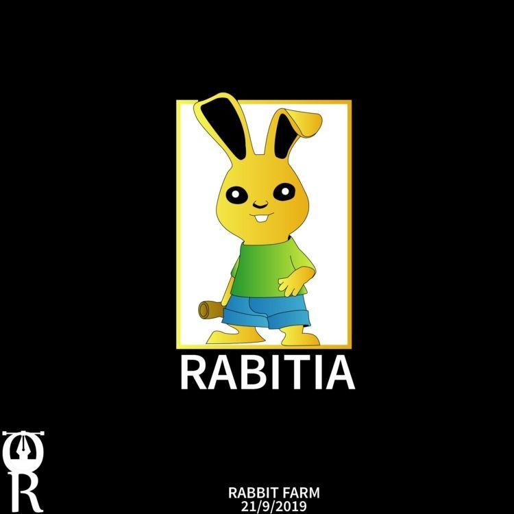 Rabbit farm logo design - omarraaftdesginer   ello
