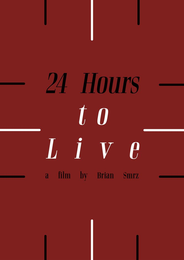 Film poster 24 Hours Live (2017 - mathieuvancamp | ello