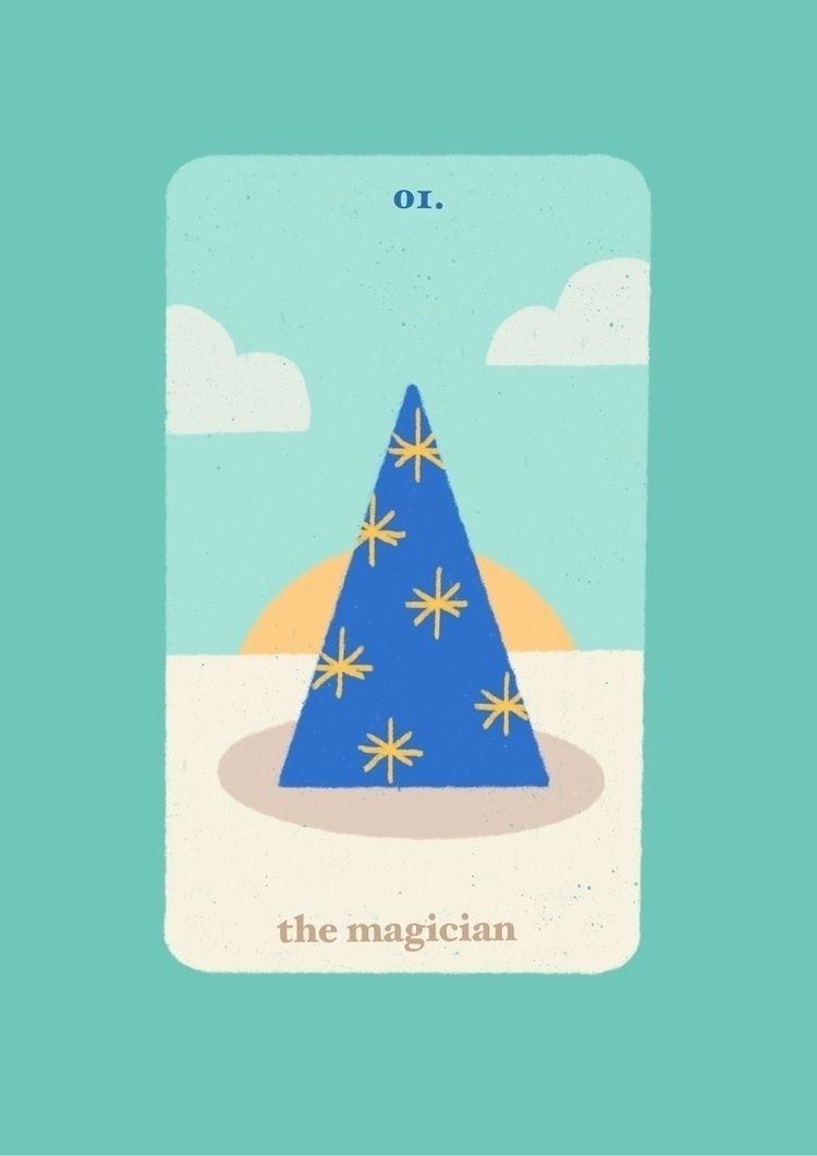 Card Major Arcana 01. magician - sylvissxi | ello