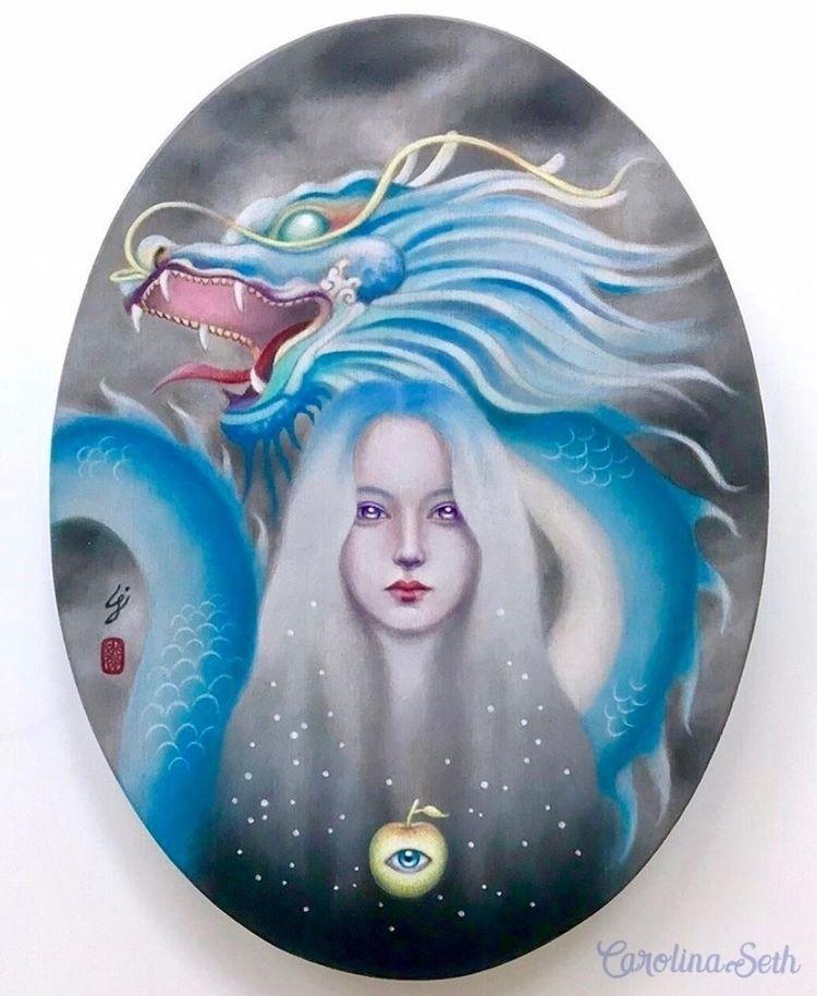 "love mythology dragons). ""Draco - carolinaseth | ello"
