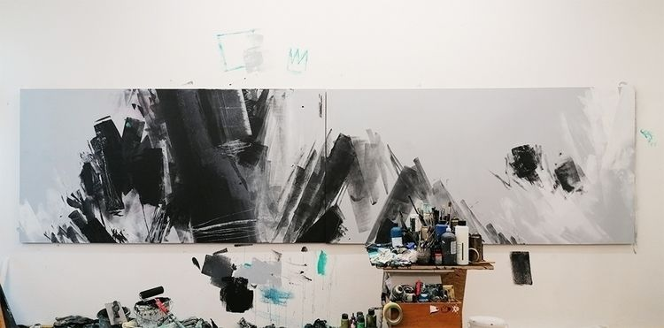Hey guys wip bigger painting wo - davidstegmann | ello
