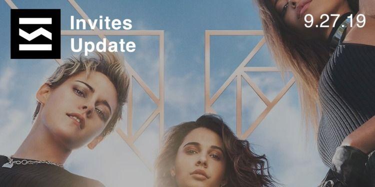 Invites Update 9/27/2019 TGIF,  - elloblog | ello