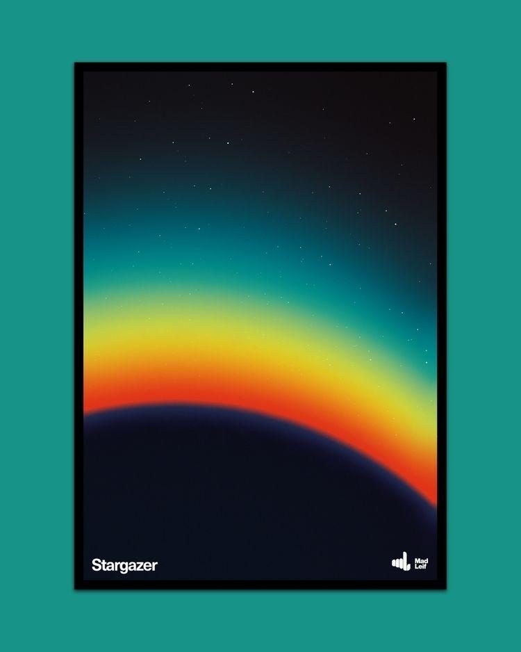 Stargazer  - poster, posterdesign - madleif | ello