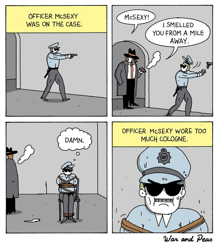 Smells McSexy - comic, webcomic - warandpeas | ello