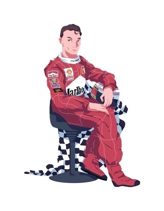 Eddie irvine - Formula1 - h4rlock | ello