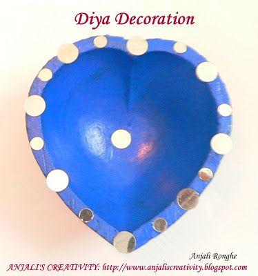 Easy DIY diyas Diwali perfect f - jeetukumar | ello