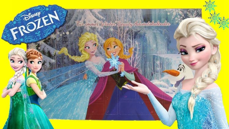 Disney Frozen Christmas Advent  - supersurpriseshow | ello