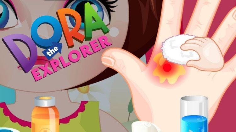 Dora Burn Treatment Gameplay &l - supersurpriseshow | ello