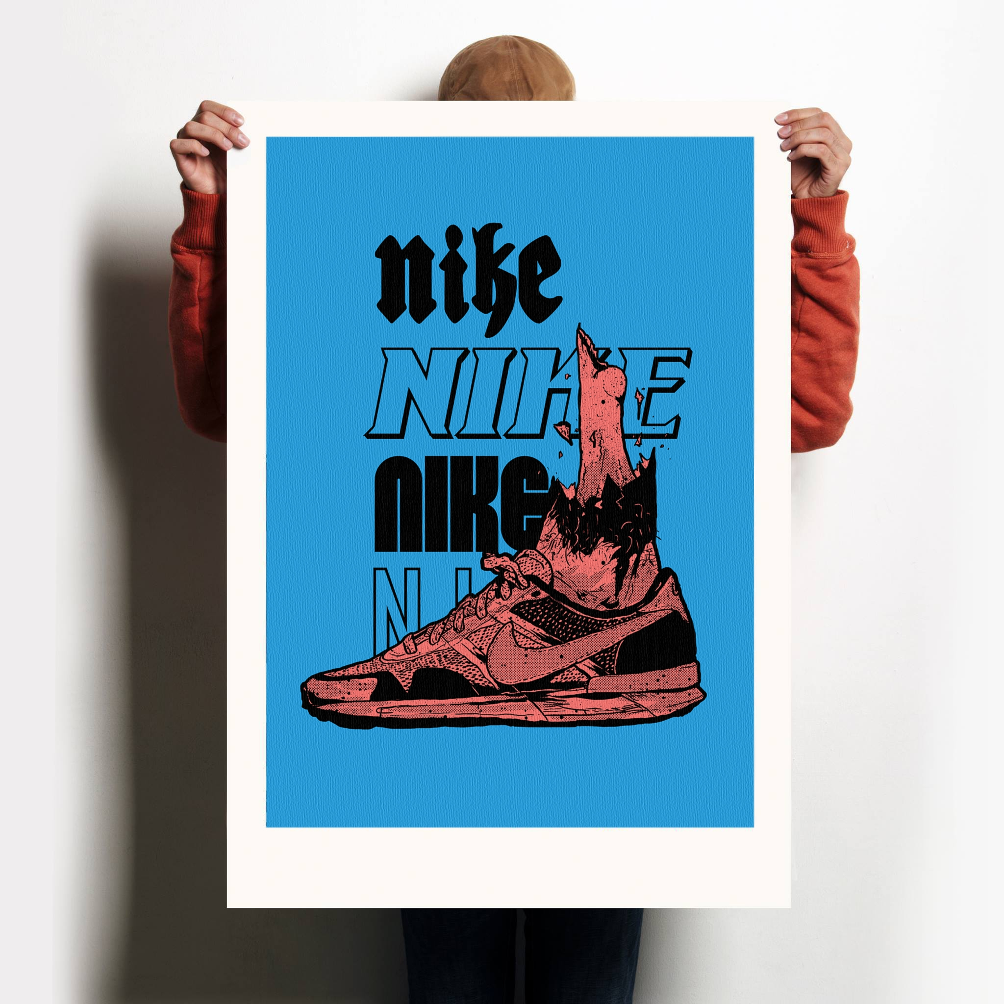 Nike Bones - illustration, justblack - justblack | ello