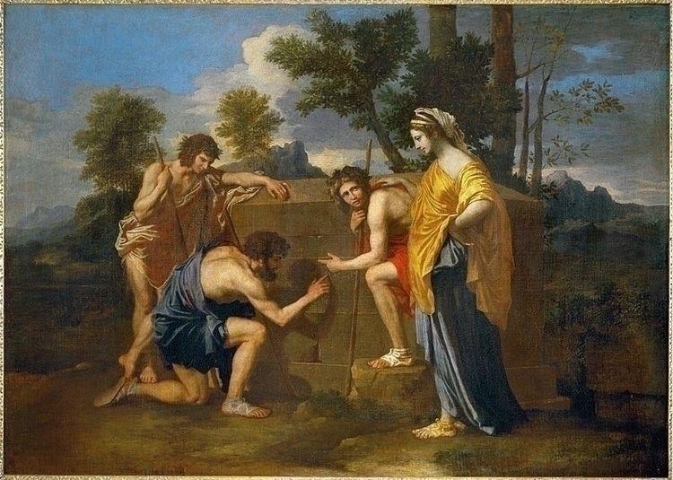 Arcadia ego Nicolas Poussin - charles_3_1416   ello