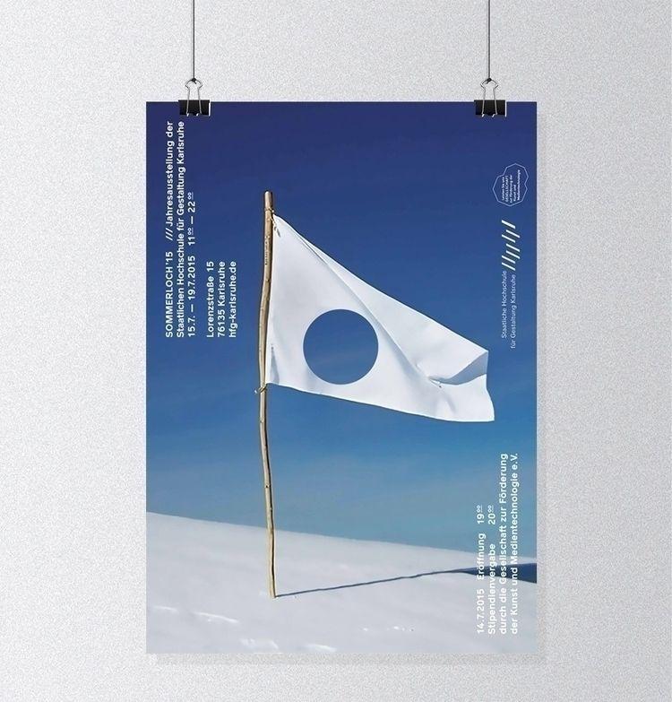 Artwork Sommerloch Exhibition,  - veronikachristine | ello