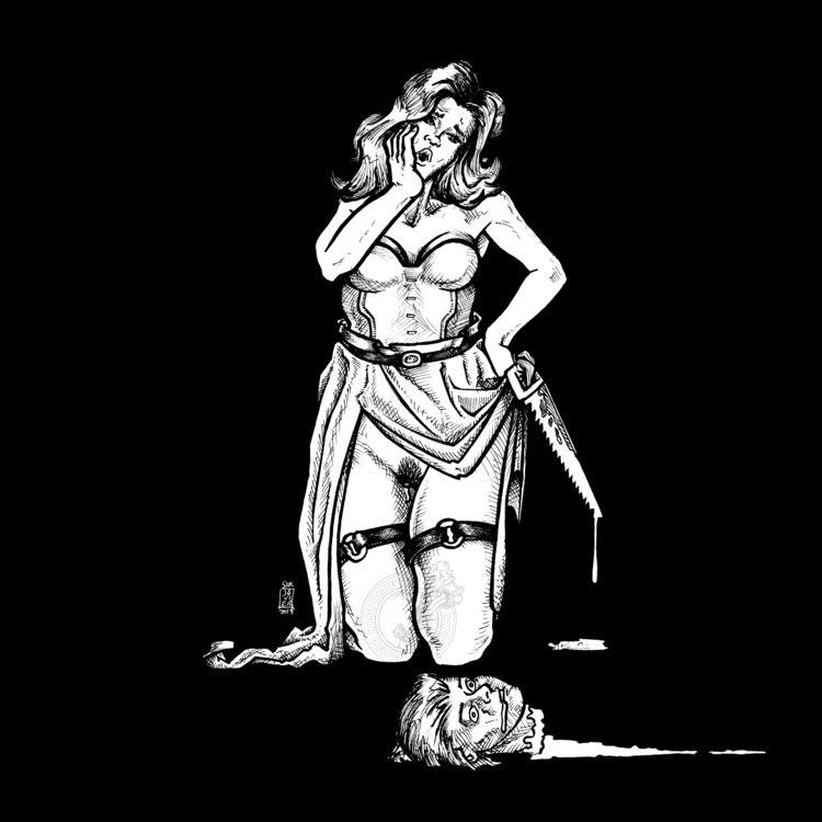 NSFW Day 2: Mindless illustrati - sirjavier | ello