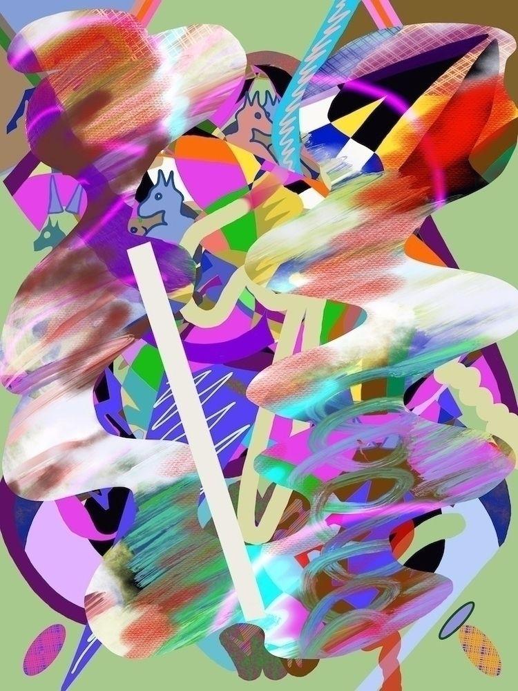 Conjure 2019, digital painting - tonyvandenboomen   ello
