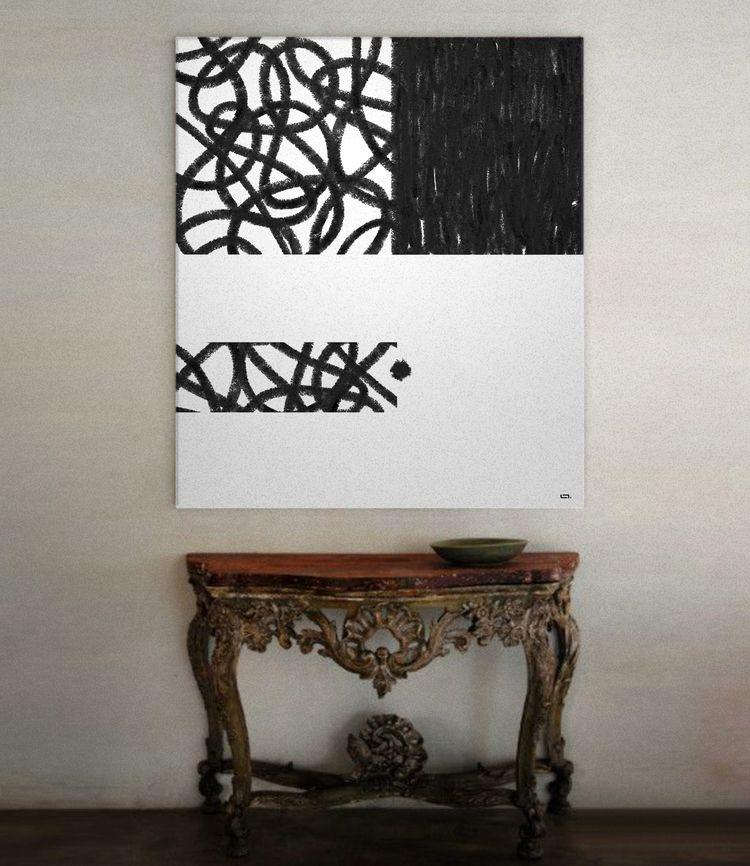 Untitled Black soft Pastel - linco7n   ello