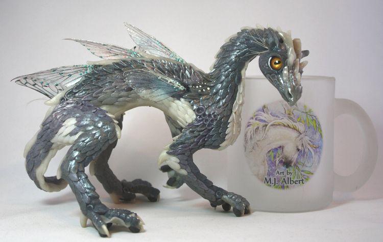 kind sculpted Water Dragon Art  - mjalbertsculpts | ello
