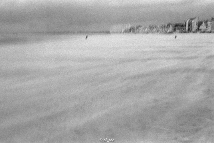 kodak tri 400 - monochrome, beach - ol_sea | ello