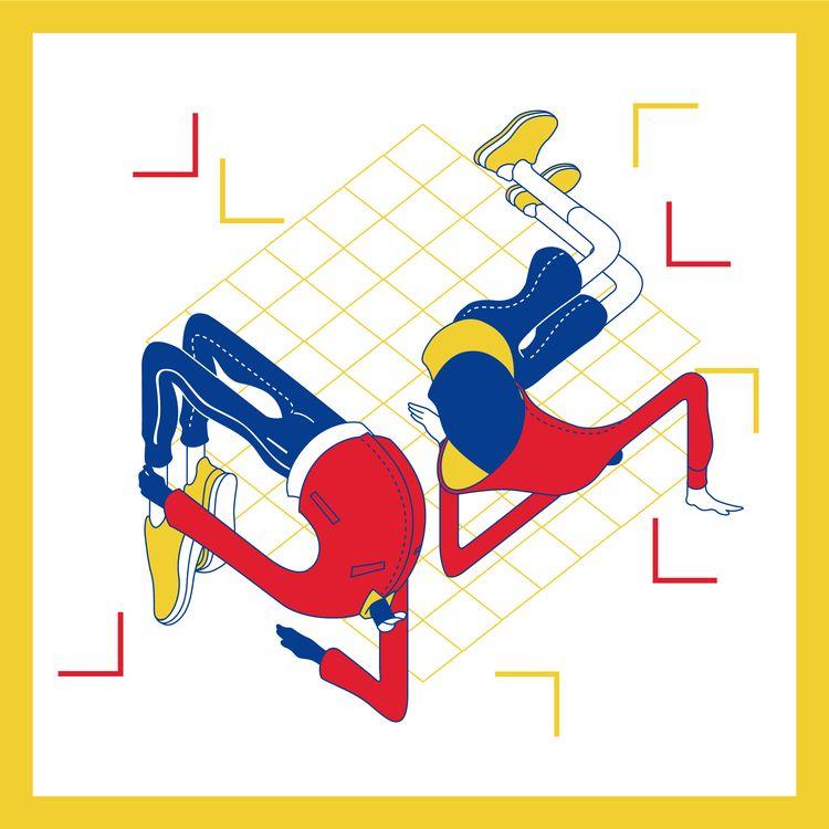breakdance, graphicillustration - woodsywood   ello