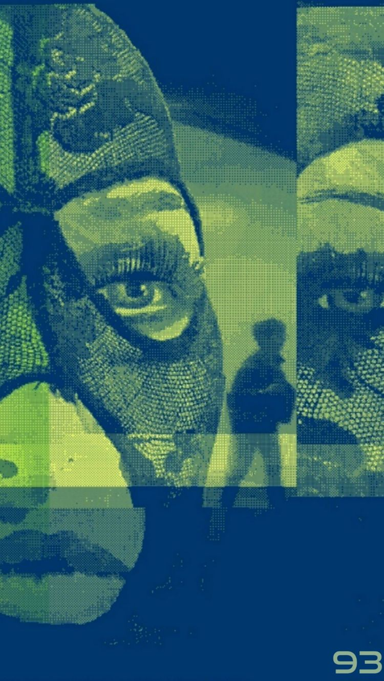 WATCHER - novaexpress93, face, pixel - novaexpress93 | ello