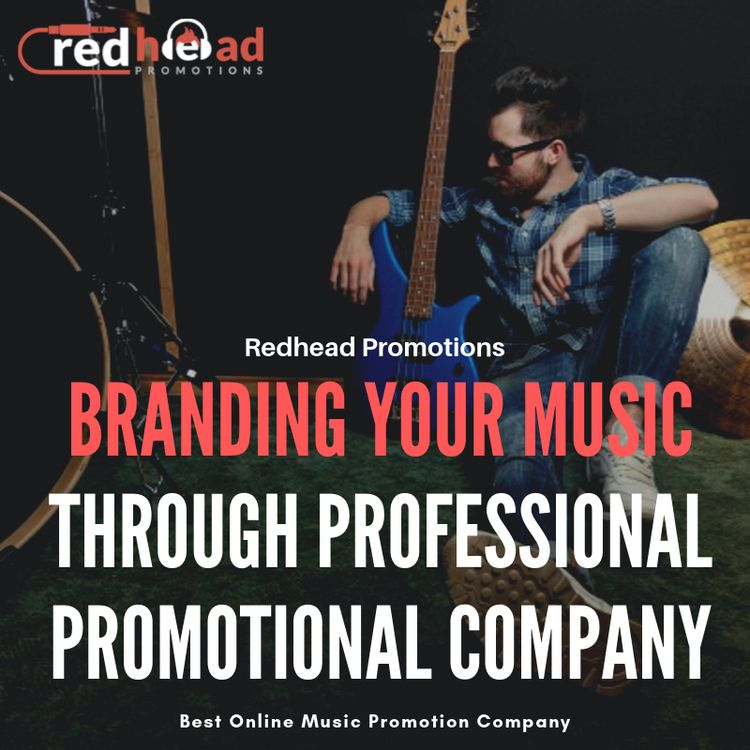 Branding Music Professional Pro - redheadpromotions | ello