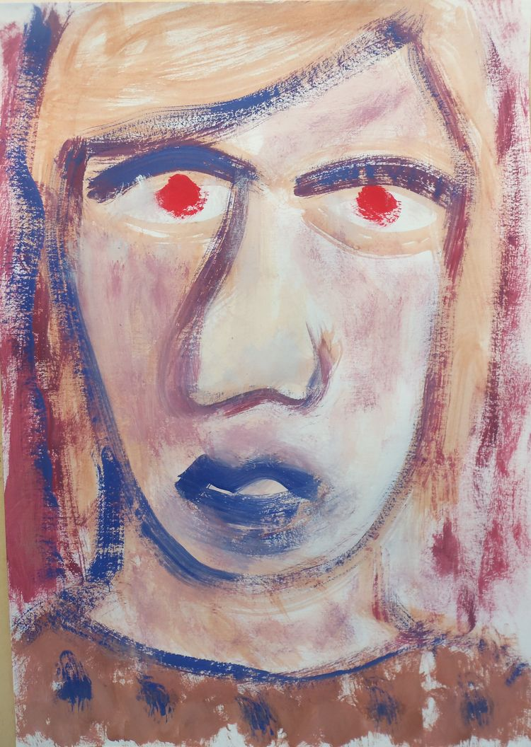 Les Yeux Rouges. 2019 - art, contemporaryart - stephanesalvi   ello