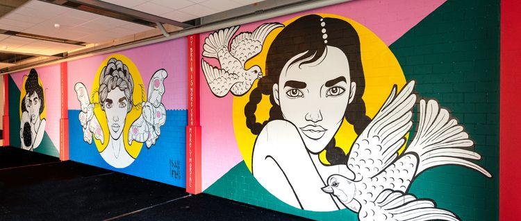 Mural Comerge AG Zurich. honor  - safu_one | ello