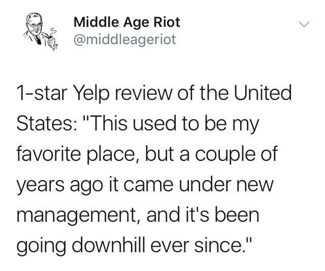 1-Star Yelp review United State - purotom | ello