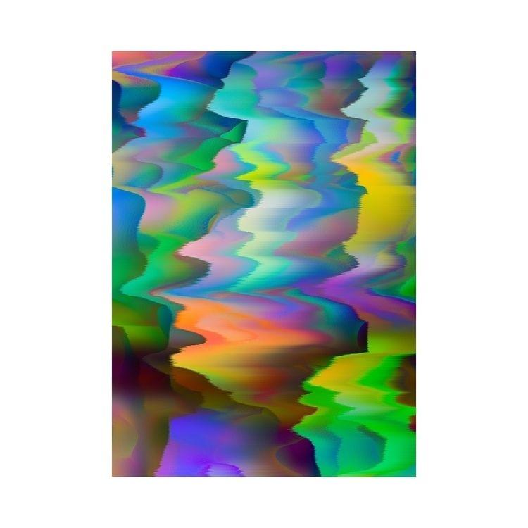 glitch, art - mostwrongking | ello