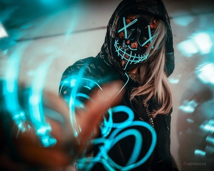 LED mask Aliexpress £5 spent, t - rephocus | ello