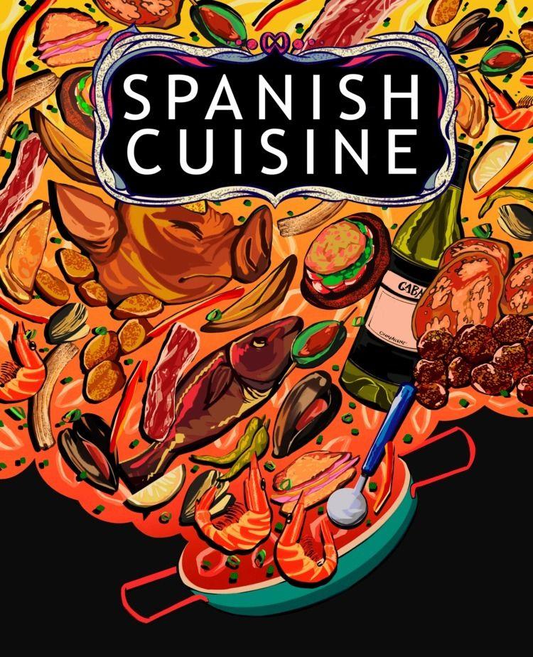 Spanish Cuisine Mock - j4lly | ello