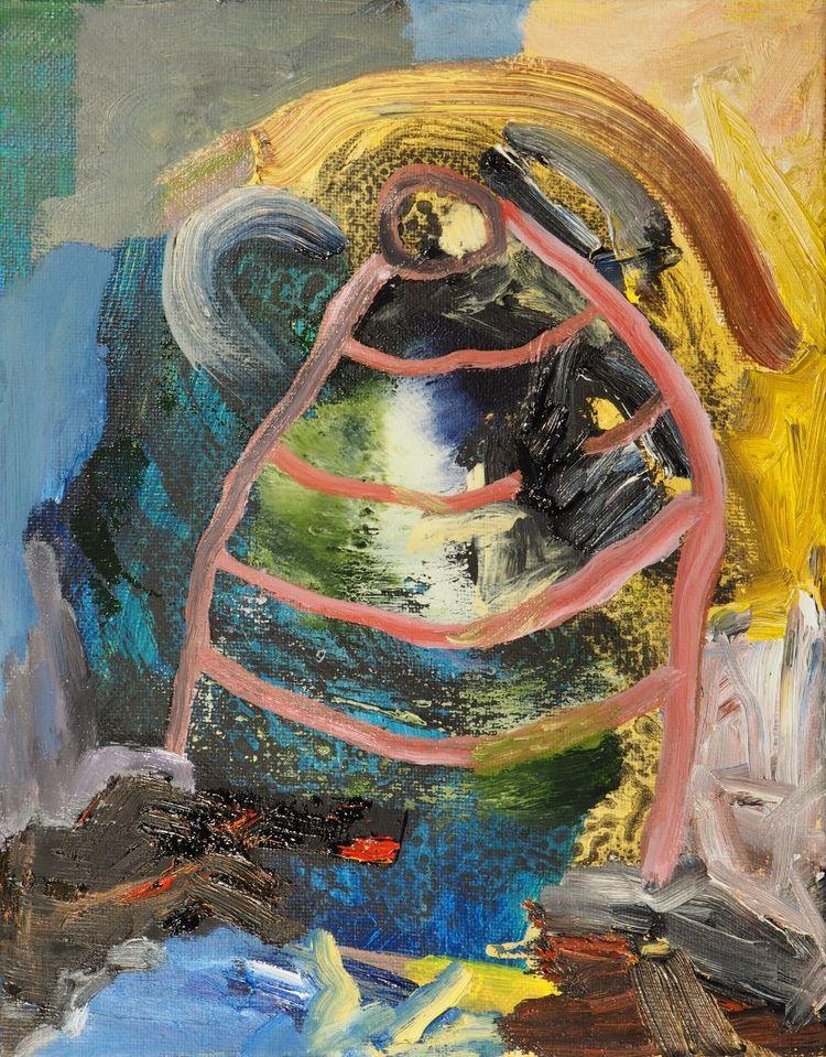 acrylic oil canvas - painting - homare | ello