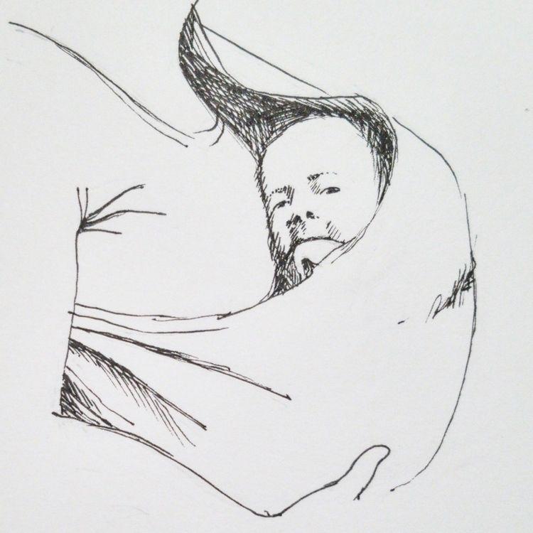 'sling - inktober, inktober2019 - peninasharon | ello