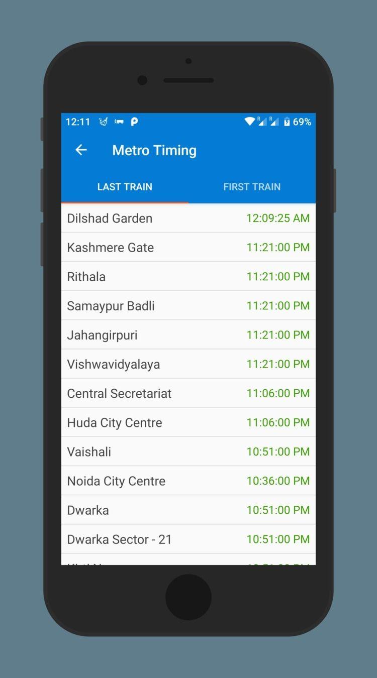 Delhi timing Metro trains save  - delhimetroapp | ello