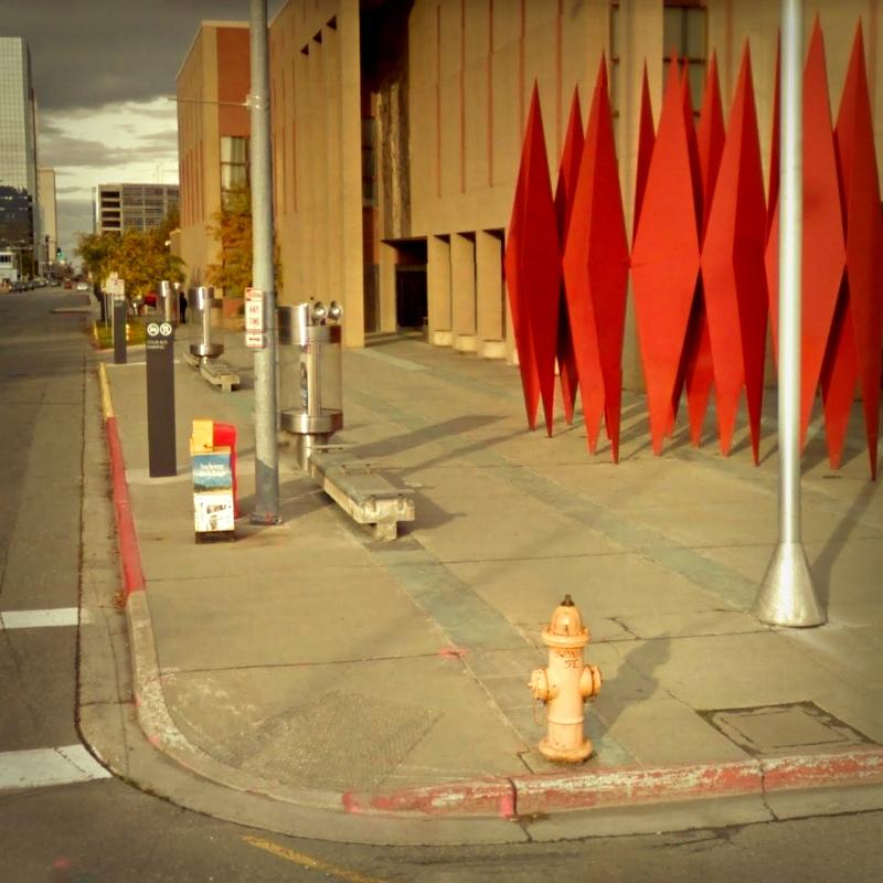 Street, Anchorage, Alaska - rephotography - dispel   ello