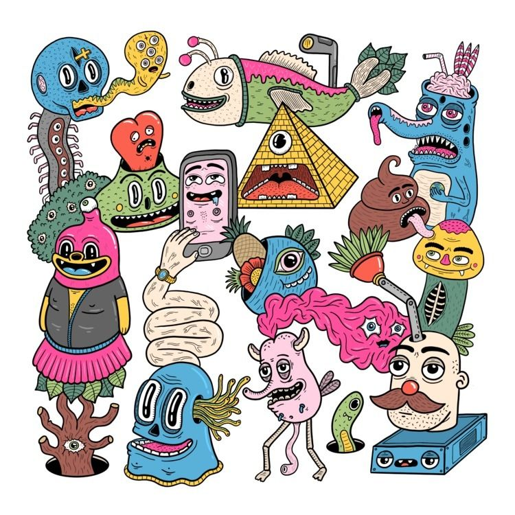 Stalkers - illustration, drawing - douglascavanna | ello