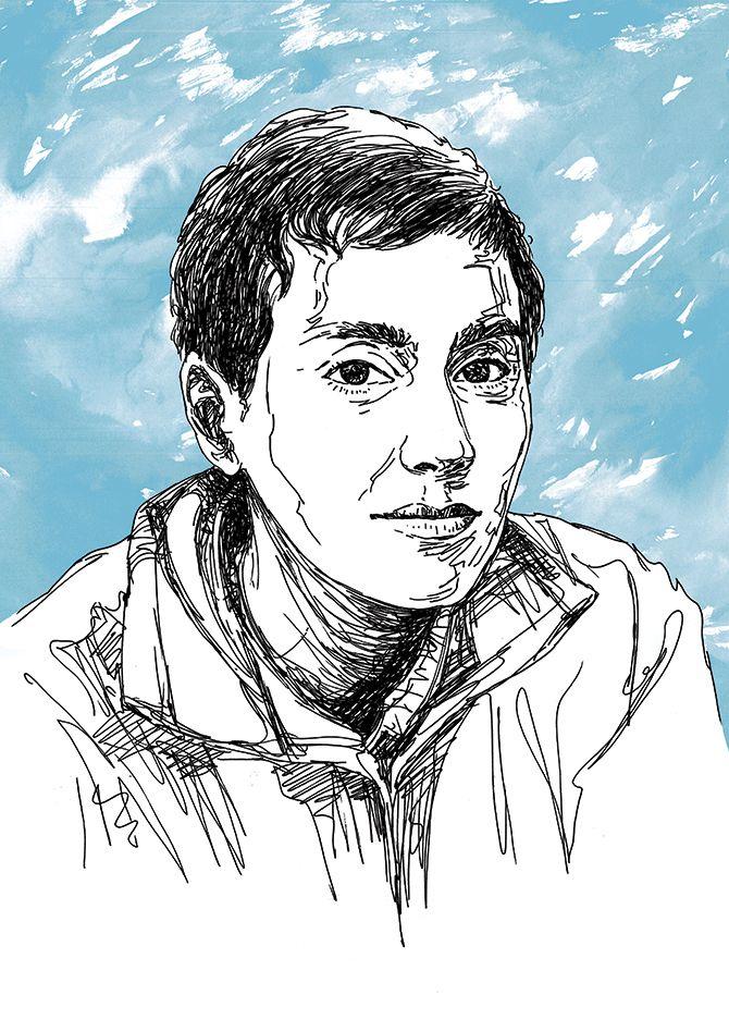 Portrait Illustration: illustra - jayeshsivan   ello