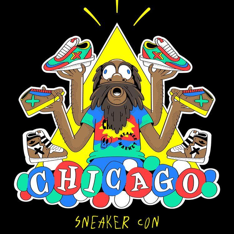 Sneaker Kali - SneakerCon, Art, Vector - psychrome   ello