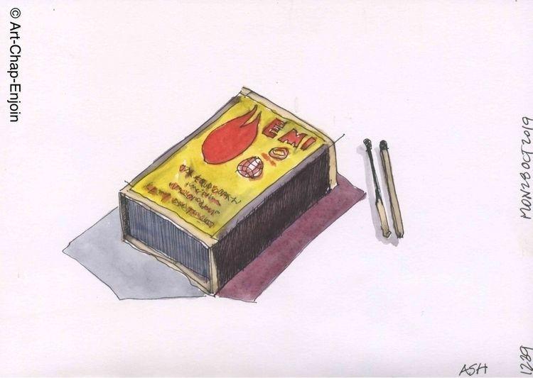 1239 - Ash quick sketch prompt  - artchapenjoin   ello