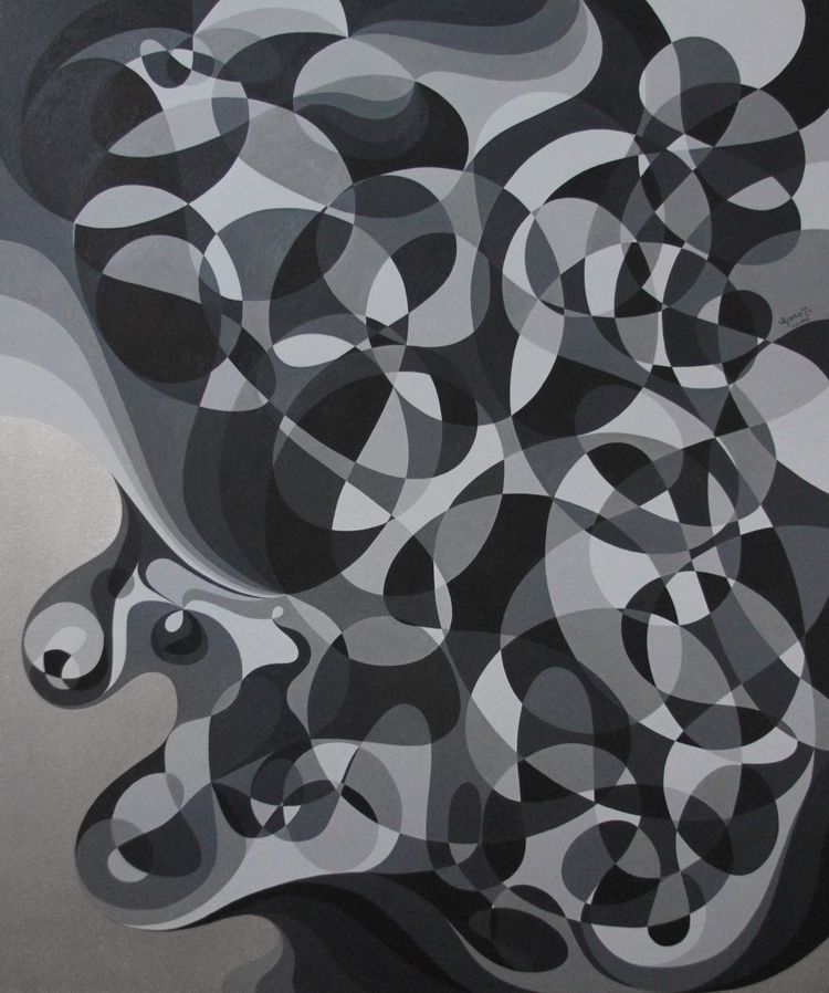 Abstralism; Silver Gray. style  - linco7n | ello
