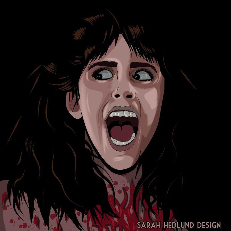 31 Days Halloween theme Horror  - sarahhedlunddesign   ello