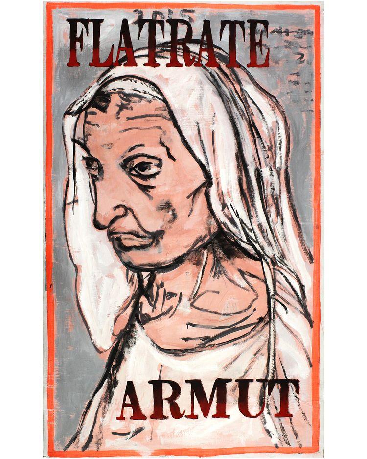 Flatrate Armut - Poverty , pain - boraistudio | ello