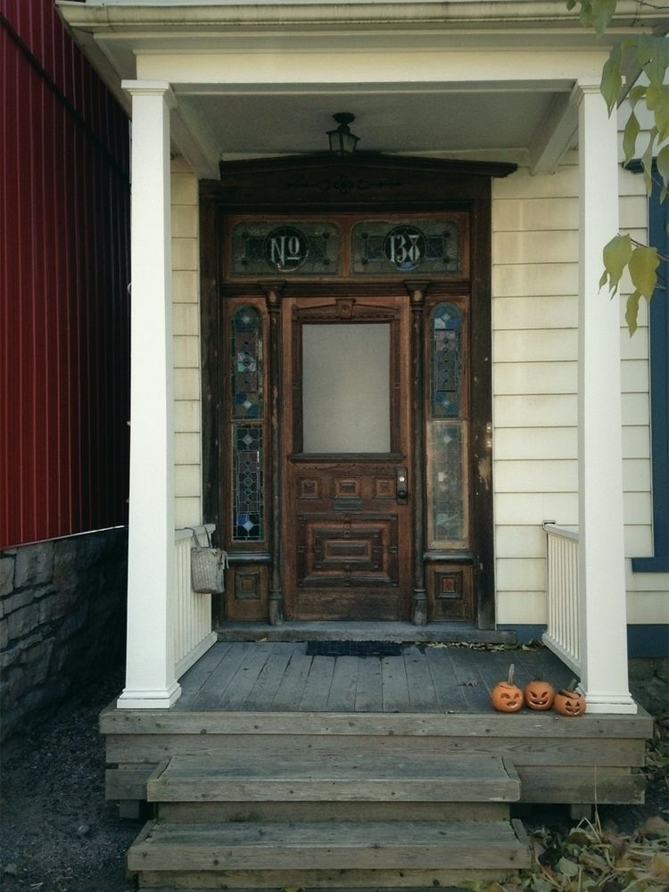 Doors / Halloween - photo, fall - dispel   ello