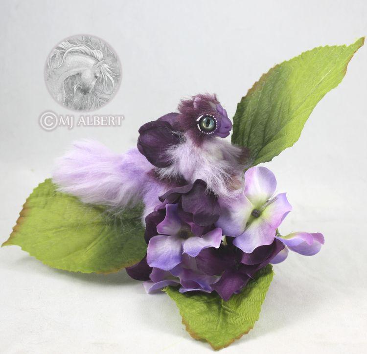 Flower Dragon Hatchling Mini Po - mjalbertsculpts | ello