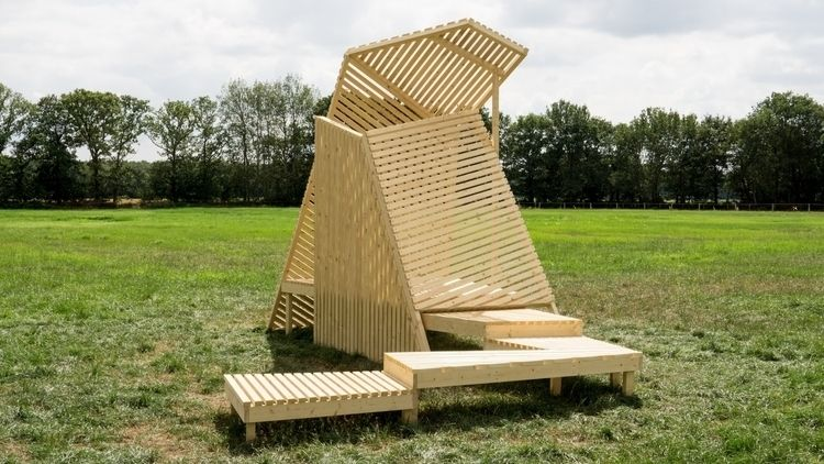 Folly 90.15 useless structure,  - kunstconstructie | ello