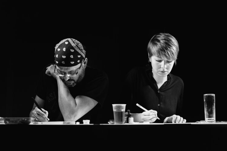 People work Artists Hanna Wenze - marcushammerschmitt | ello
