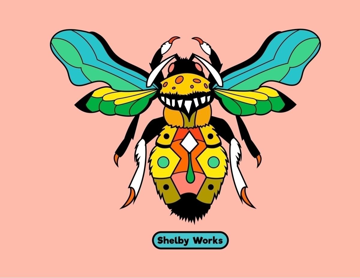 bumblebees dream unique - shelbyworks | ello