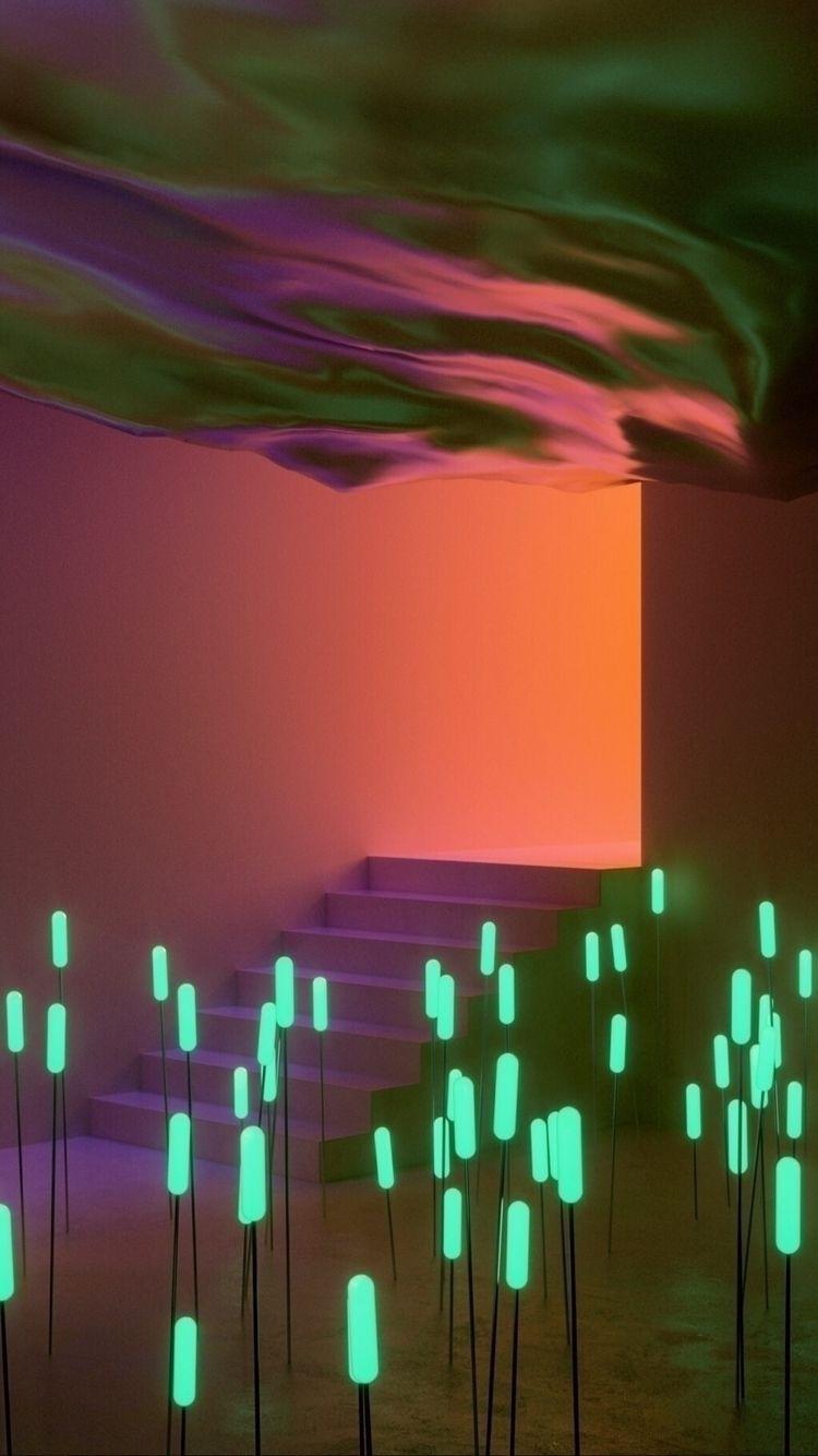 Light Installation :comet:️ - installation - danielmedina3d | ello