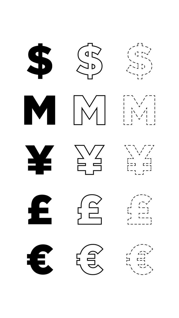 typography, smile, money, black - valenvq | ello