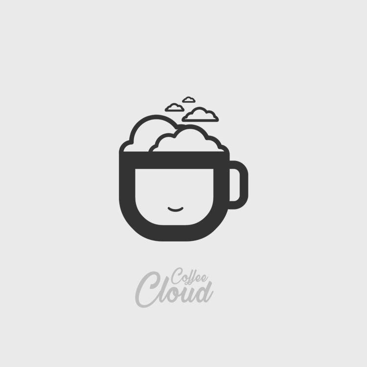 Coffee Cloud Logo Design - emrahserdaroglu | ello